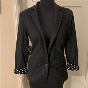 Anthropologie charcoal blazer. Size Extra small